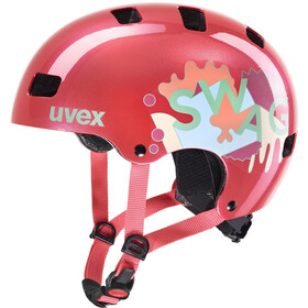 UVEX Kid 3 Casco Niños, coral